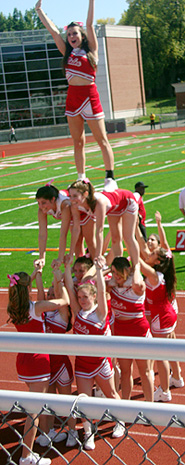 cheer team pyramid