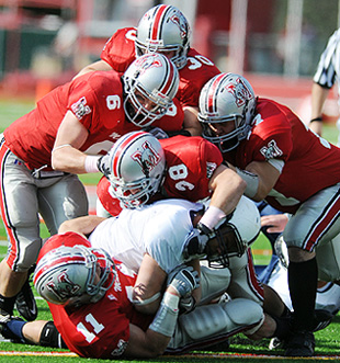 Muhlenberg�s defense