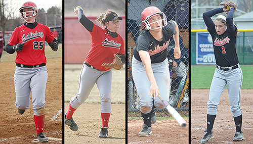 Kelly Kline, Colleen O'Donnell, Erica Wenzel, Kelsey Jones