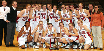 Muhlenberg women's basketball